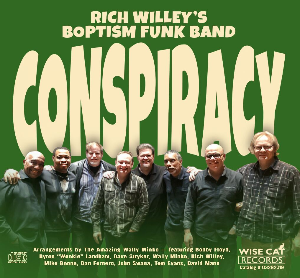 Rich Willey's Boptism Funk Band — Conspiracy